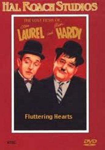 Fluttering Hearts Poster