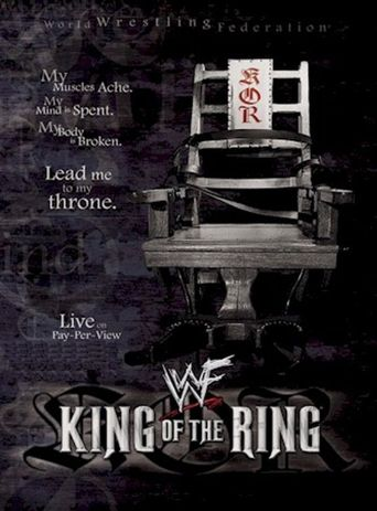 WWE King of the Ring 2001 Poster