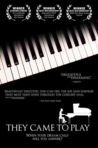 They Came to Play Poster