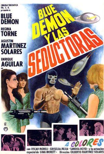 Blue Demon y las invasoras Poster