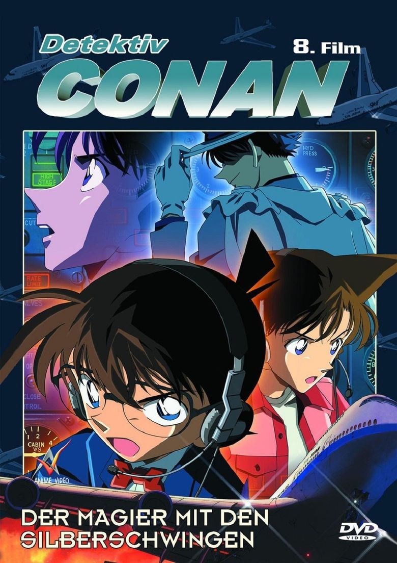 Detective Conan: Magician of the Silver Key Poster