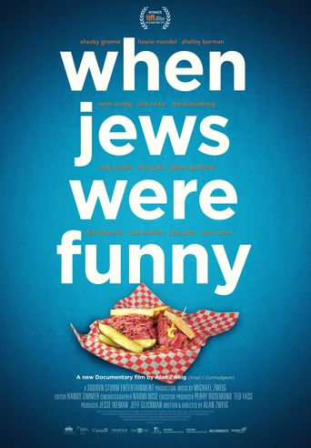 When Jews Were Funny Poster