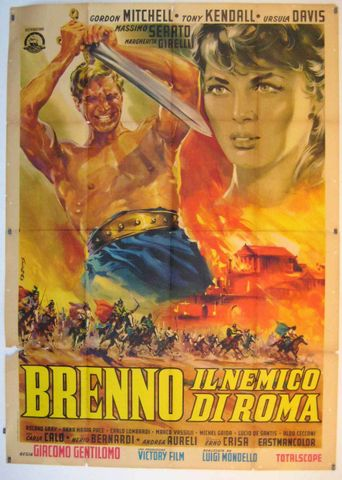 Brennus, Enemy of Rome Poster