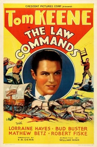 The Law Commands Poster
