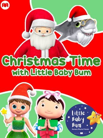Christmas Time with Little Baby Bum Poster