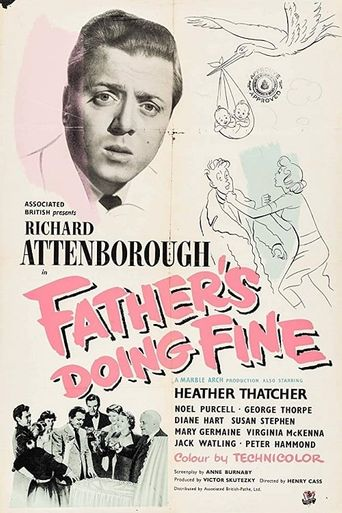 Father's Doing Fine Poster