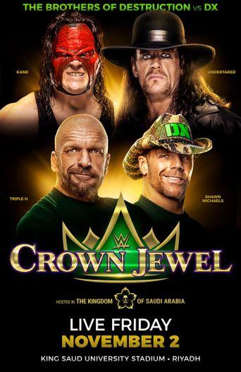 WWE Crown Jewel 2018 Poster