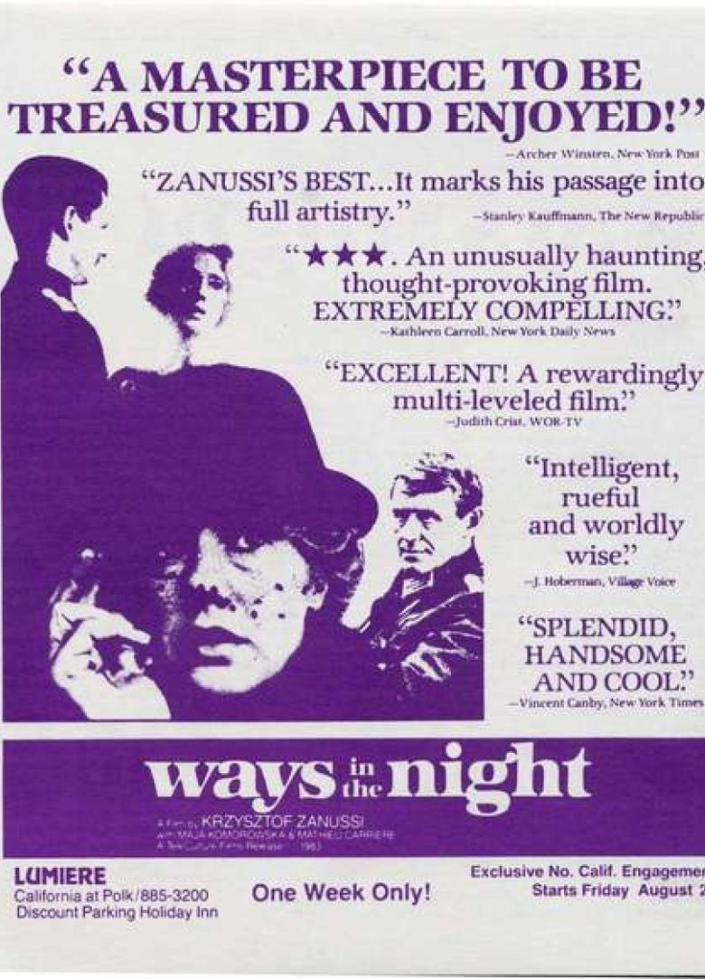 Ways in the Night Poster