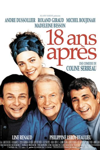 Three Men and a Cradle - 18 Years Later Poster