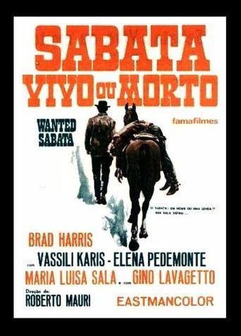 Wanted Sabata Poster