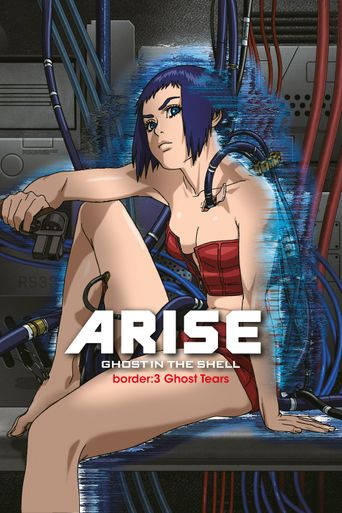 Ghost in the Shell Arise - Border 3: Ghost Tears Poster