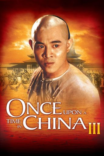 Once Upon a Time in China III Poster
