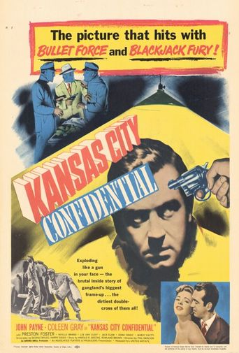 Kansas City Confidential Poster