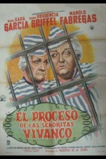 El proceso de las señoritas Vivanco Poster