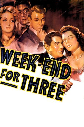 Weekend for Three Poster