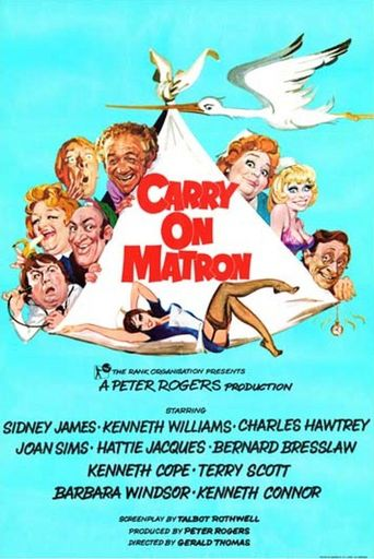 Carry On Matron Poster