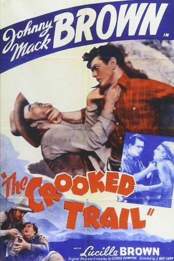 The Crooked Trail Poster