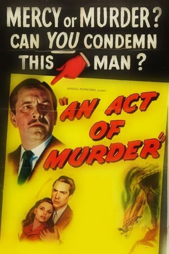 An Act of Murder Poster