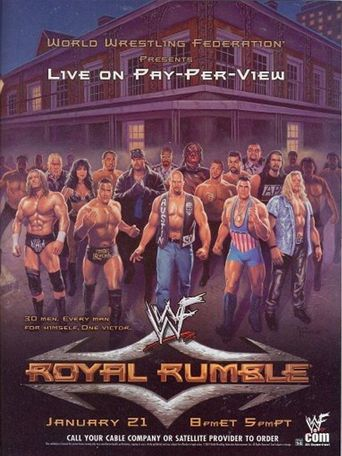 WWE Royal Rumble 2001 Poster