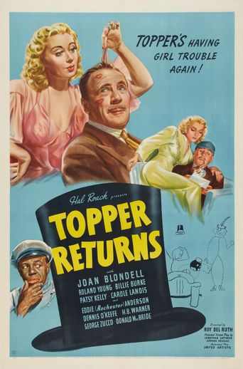 Topper Returns Poster