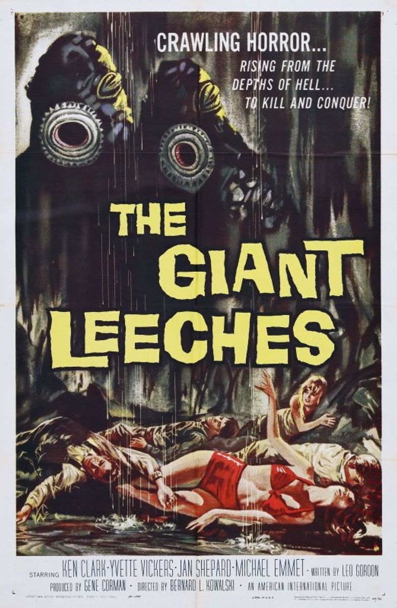 Attack of the Giant Leeches Poster