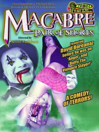 Macabre Pair of Shorts Poster