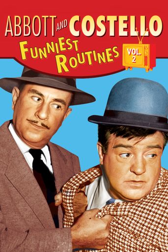 Abbott and Costello: Funniest Routines, Vol. 2 Poster