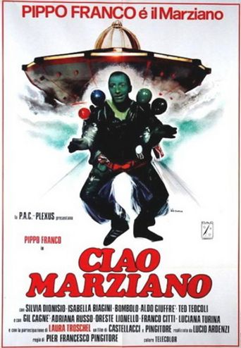 Ciao marziano Poster