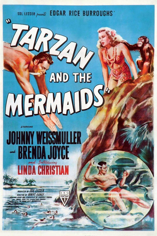Tarzan and the Mermaids Poster