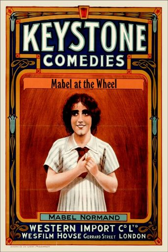 Mabel at the Wheel Poster