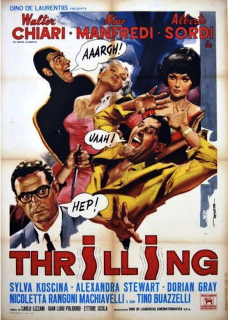 Thrilling Poster