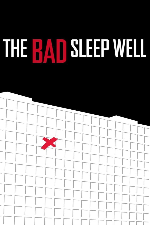 The Bad Sleep Well Poster