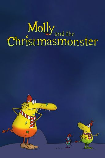 Molly and the Christmas Monster Poster