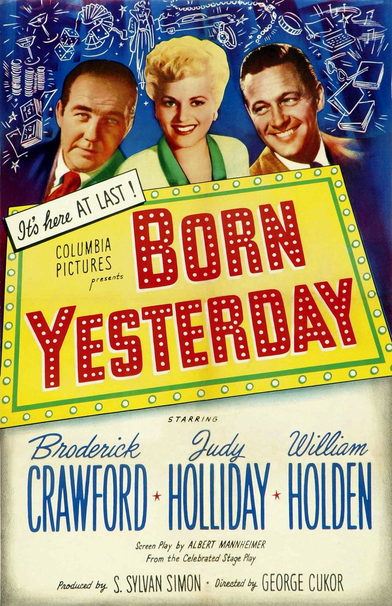 Born Yesterday Poster