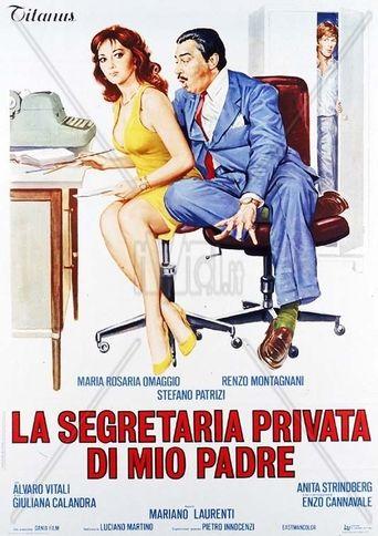 La segretaria privata di mio padre Poster