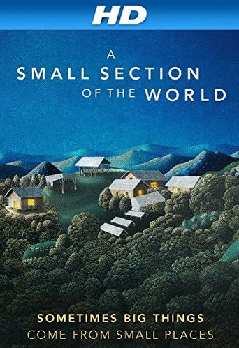 A Small Section of the World Poster