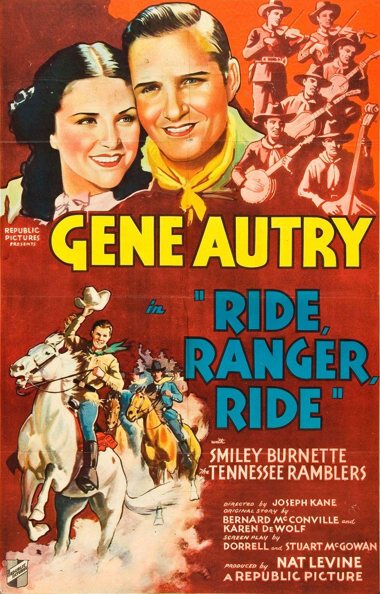 Ride, Ranger, Ride Poster