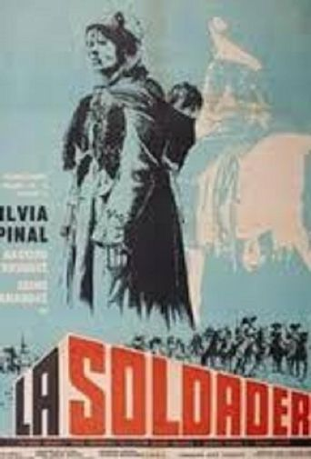 La soldadera Poster
