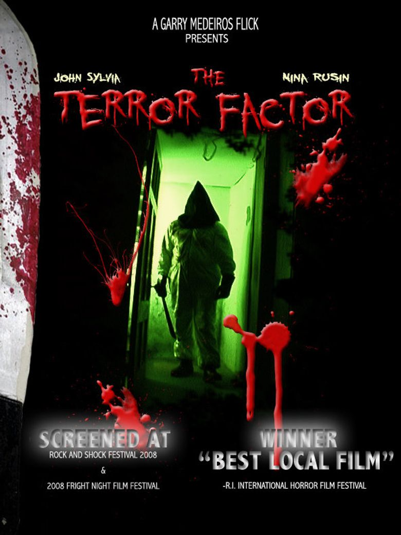 The Terror Factor Poster