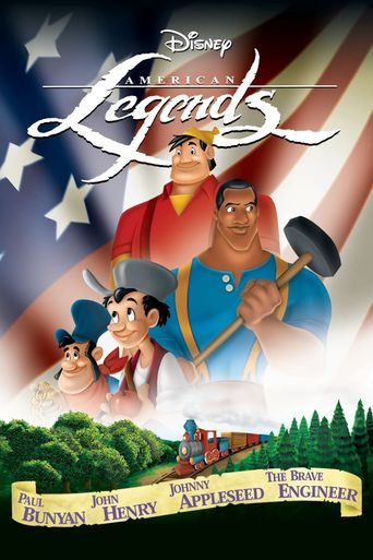 Disney's American Legends Poster