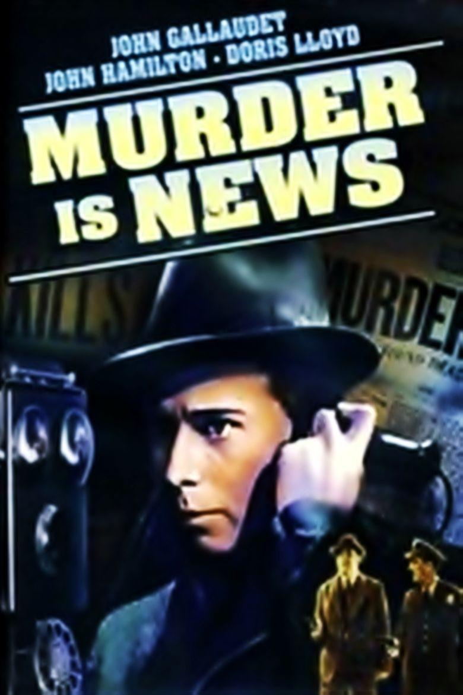 Murder Is News Poster