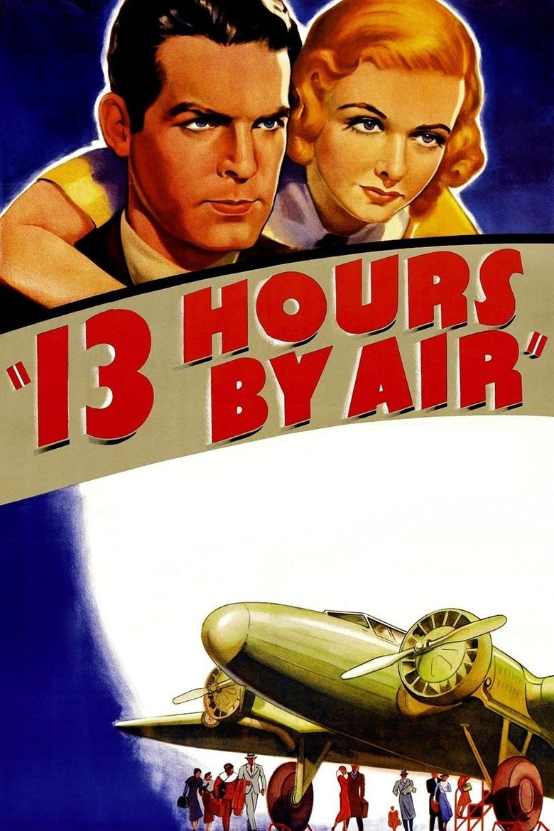 13 Hours by Air Poster