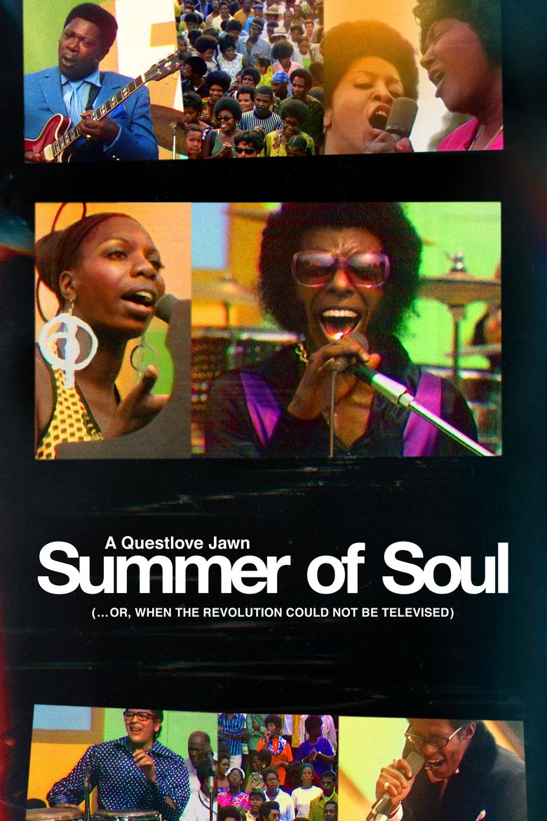 Summer of Soul (...or, When the Revolution Could Not Be Televised) Poster