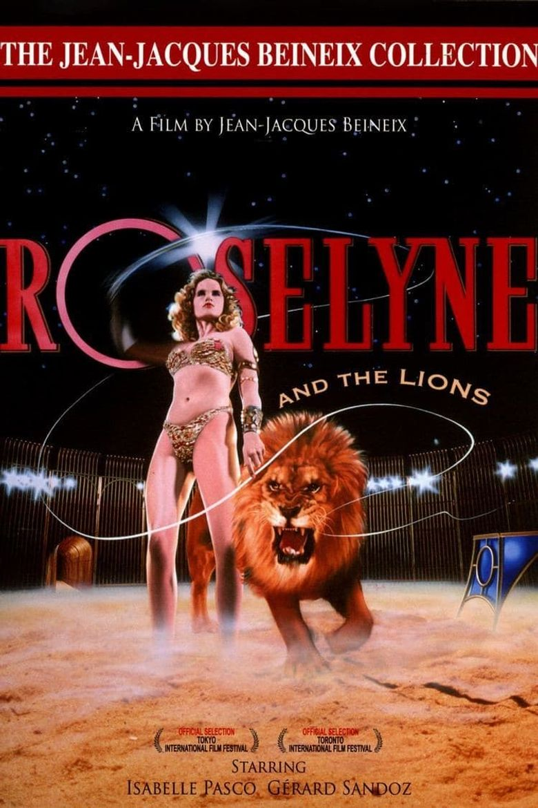 Roselyne and the Lions Poster