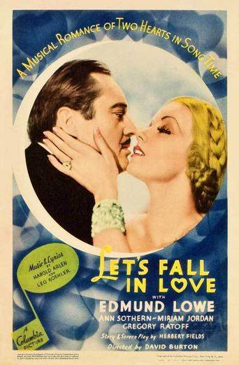 Let's Fall in Love Poster