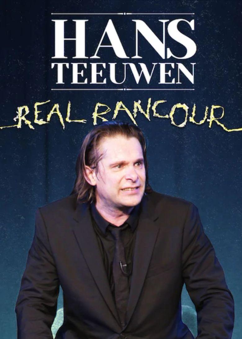 Hans Teeuwen: Real Rancour Poster