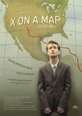 X on a Map Poster