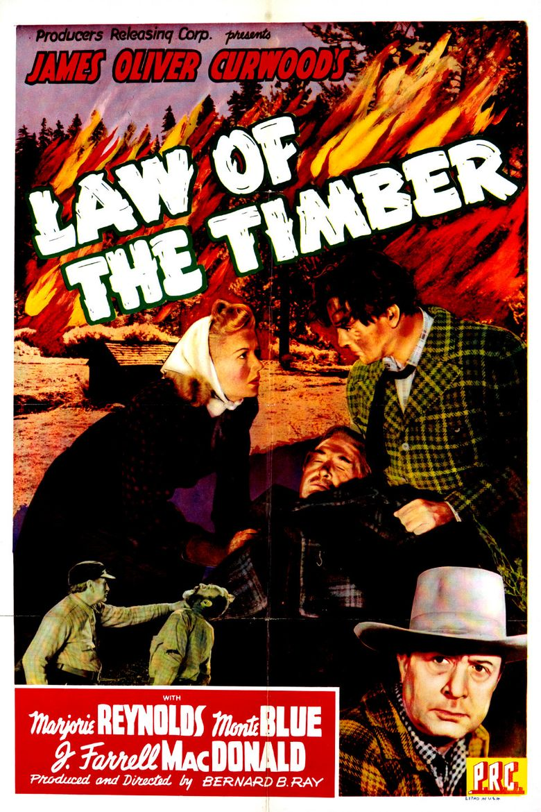 Law of the Timber Poster