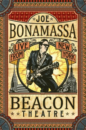 Joe Bonamassa: Beacon Theatre Live From New York Poster