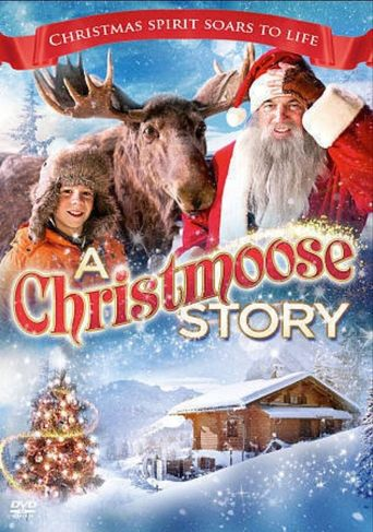 A Christmoose Story Poster